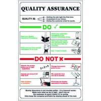 Quality Assurance Workplace Wallchart