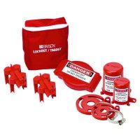 Brady® 99679 Valve Lockout Pouch Kit