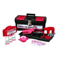 Brady 105959 Personal Valve Lockout Kit w/ 3 Keyed-Alike Steel Padlocks