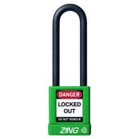 Zing® RecycLock Safety Padlock, Keyed Alike