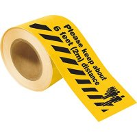 Social Distancing Floor Tape