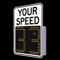 SafePace® EV12FM Radar Feedback Sign