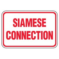 Siamese Connection Sign: Siamese Connection
