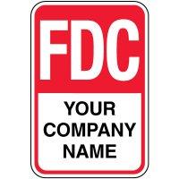 Semi-Custom FDC Sign - Your Company Name