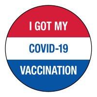 I Got My COVID-19 Vaccination Sticker