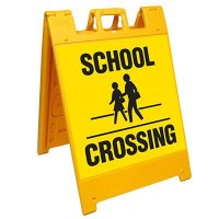 School Crossing Barricade