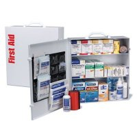 ANSI 100-Person Class B+ First Aid Kit With Meds