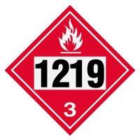 1219 Isopropanol - DOT Placards