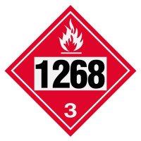 1268 Petroleum Distillates - DOT Placards