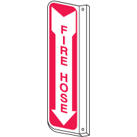 Fire Hose 2-Way View Fire Safety Signs