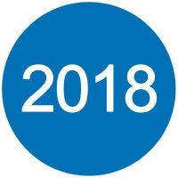 2018 Inventory Dot Paper Labels