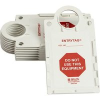 Do Not Use Equipment Entrytag