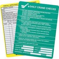 Daily Crane Check Entrytag Insert