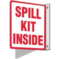 Spill Kit Inside Sign