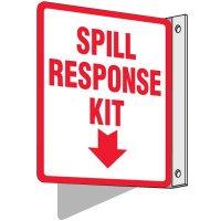 Spill Response Kit Sign