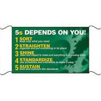 5S Depends On You Banner & Wallchart