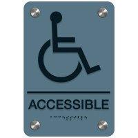 Accessible (Accessibility) - Premium ADA Facility Signs