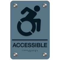 Accessible (Dynamic Accessibility) - Premium ADA Facility Signs