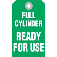 Full Cylinder Accident Prevention Tag
