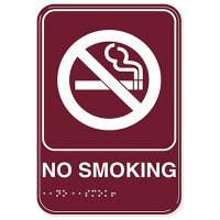 No Smoking ADA Signs