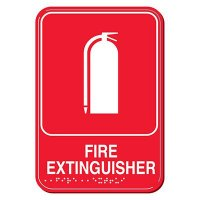 Fire Extinguisher ADA Signs