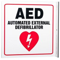 AED L-Style Sign