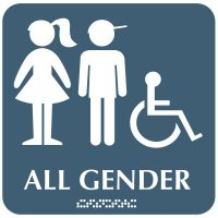All Gender (Accessibility) - Optima ADA Restroom Signs