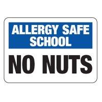 Allergy Safe School No Nuts - School Allergy Signs