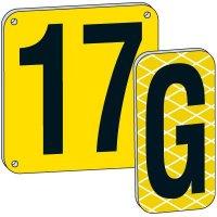 "8"" Yellow Aluminum Plates"