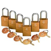 American Lock ® Pre-Numbered Padlock Sets