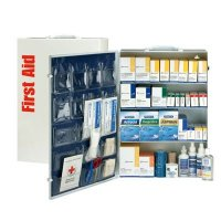 ANSI 150-Person Class B+ First Aid Kit With Meds