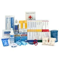 ANSI 75-Person Class B+ First Aid Kit With Meds  90573