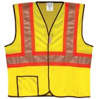 ANSI Class 2 Two-Tone Safety Vest Occunomix LUX-SSCOOL2