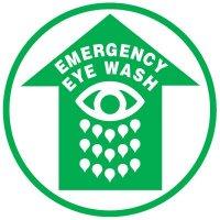 Floor Safety Signs - Emergency Eye Wash