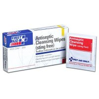 Antiseptic Cleansing Wipe, (10) Wipes First Aid Only FAE-4002