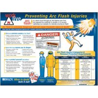 Arc Flash Awareness Wall Chart