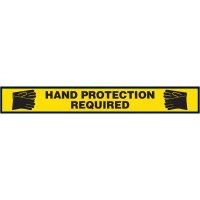 Hand Protection Required Floor Marking Strip
