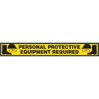 Personal Protective Equipment Required Floor-Marking Strip