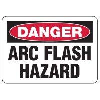 Danger Arc Flash Hazard Sign