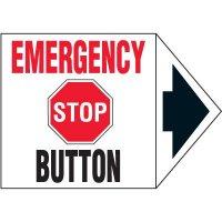Arrow Labels - Emergency Stop Button