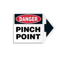 Arrow Labels - Danger Pinch Point