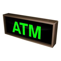 ATM Backlit LED Sign