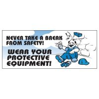 Wear Protective Equipment Banner