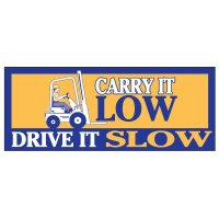 Carry Low Drive Slow Banner