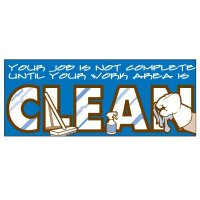 Clean Work Area Banner