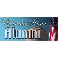 Welcome Home Alumni Banner