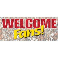 Welcome Fans Banner