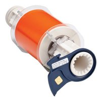 BBP®85 Series Label: Polyimide, Orange, 4 in W x 50 ft L