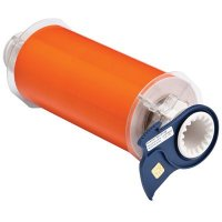 BBP®85 Series Label: Polyimide, Orange, 7 in W x 50 ft L