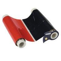 BBP®85 Series Printer Ribbon: R10000, Black/Red, 6.25 in W x 200 ft L, 8 in Panels